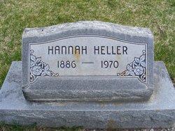 """Hannah """"Anna"""" <I>Petersen</I> Heller"""
