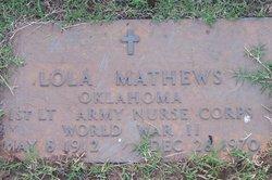Lola Mathews