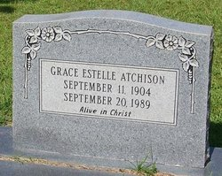 Grace Estelle Atchison