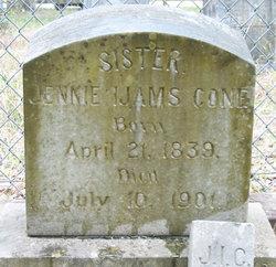 Margaret Jennie <I>Ijams</I> Cone