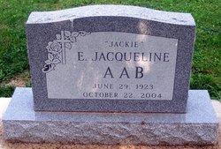E. Jacqueline Jackie Aab