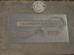 Hannah <I>Morach</I> Hoefel