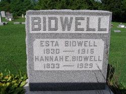 Esta Bidwell