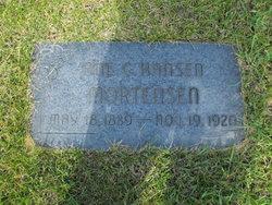Ane Catherine <I>Hansen</I> Mortensen