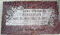 Dora <I>Strasburg</I> Henderson