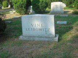 Pauline <I>Vine</I> Leibowitz