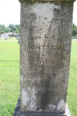Mrs Lydia Ann <I>Gaylord</I> Montague