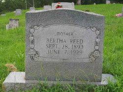 Bertha <I>Hensley</I> Reed