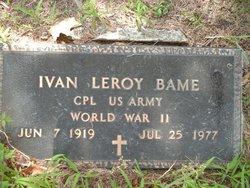 Ivan Leroy Bame