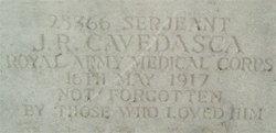 Sgt John Richard Cavedasca