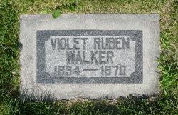 Violet <I>Ruben</I> Walker