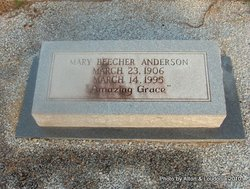 Mary <I>Beecher</I> Anderson