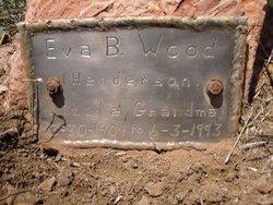 Eva Bell <I>Henderson</I> Wood