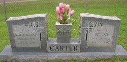 Sue Inez <I>Vann</I> Carter