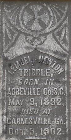 Lemuel <I>Newton</I> Tribble