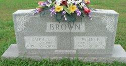 Willie Gertrude <I>Ferguson</I> Brown