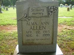 Alma Ann Allen