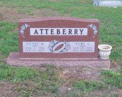 Ruby L <I>Webb</I> Atteberry