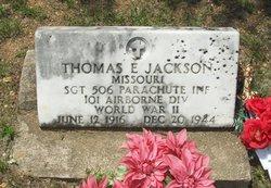 SGT Thomas E Jackson