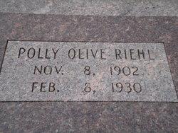 Polly Olive <I>Dodge</I> Riehl