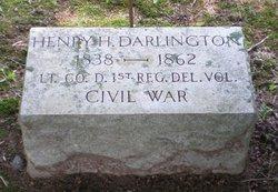 Lieut Henry H. Darlington