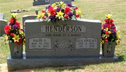 Ella Jane <I>Lovelace</I> Henderson