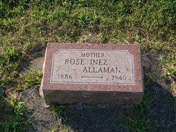 Rose Inez <I>Fox</I> Allaman
