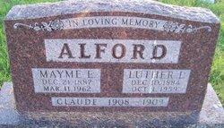 Mayme E <I>Norman</I> Alford