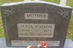 Julia <I>Autrey</I> Caison