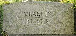 Lula Katherine <I>Weakley</I> Black