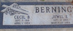 Cecil Brooks Berning