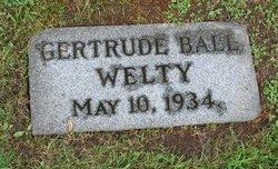 Gertrude <I>Ball</I> Welty