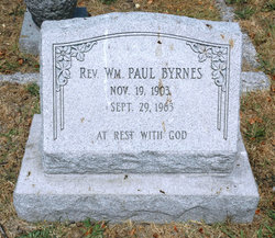 Rev William Paul Byrnes
