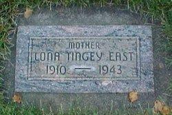 Lona Sarah <I>Tingey</I> East