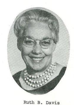 Ruth Glenna <I>Barrow</I> Davis