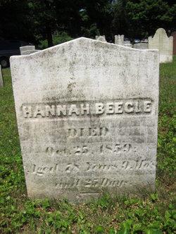 Hannah <I>Nicholas</I> Beegle