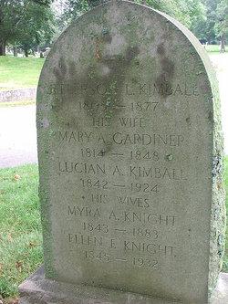 Ellen Francis <I>Knight</I> Kimball