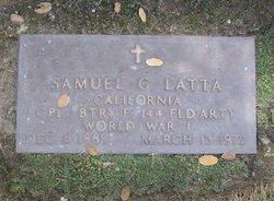 Samuel G Latta