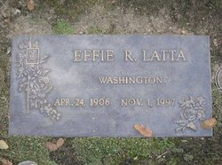 Effie R Latta