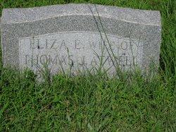 Eliza E <I>Willis</I> Atwell