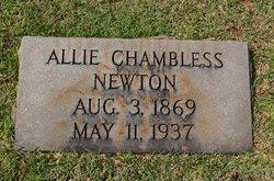 "Alice Winbreth ""Allie"" <I>Chambless</I> Newton"