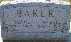 Bessie L <I>Robinson</I> Baker