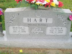 Bertha Ellen <I>Zinn</I> Hart