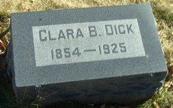 Clara Bell <I>Ertel</I> Dick