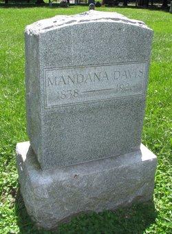 Mandana Ermine <I>Headley</I> Davis