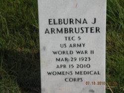 Elburna J <I>Shrader</I> Armbruster