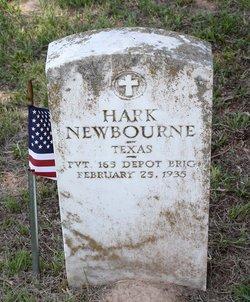 """PVT Hark """"Bud"""" Newbourne"""