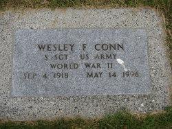 Wesley F Conn