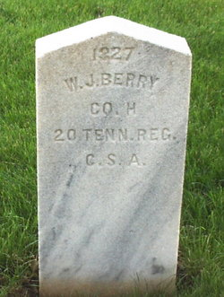 Pvt William J. Berry