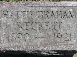 Hattie <I>Graham</I> Weckert